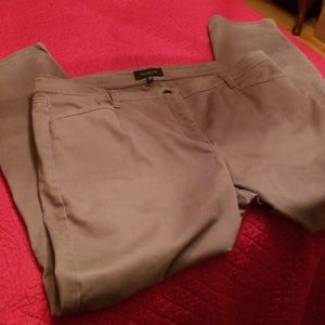Size 16 Talbots Gray Ankle Pants
